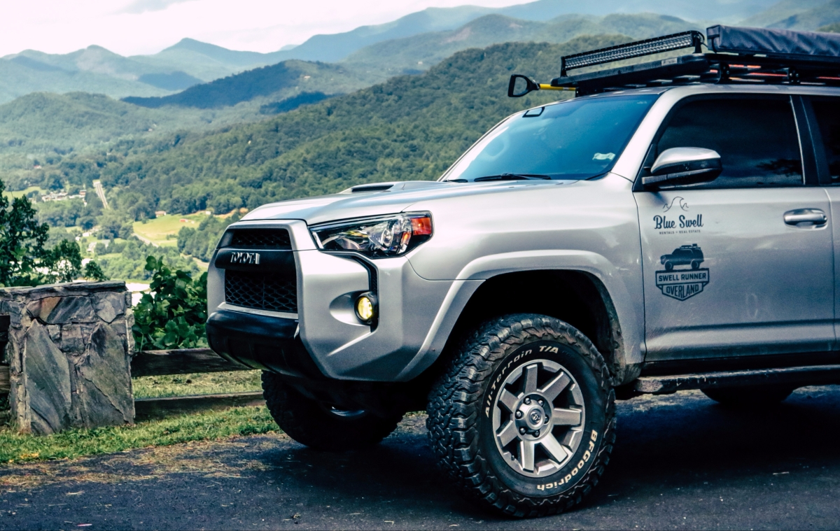 2017 Toyota 4runner >> First Things First – Lift, Tires, and Rack – SwellRunner